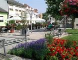 Dorfplatz von Illmitz
