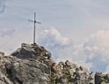 Bergtour auf den Tschirgant: Gipfelkreuz