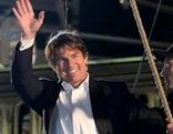 """Schauspieler Tom Cruise bei Dreharbeiten zu """"Mission Impossible V"""""""
