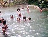 Maibachl Warmbad fließt wieder