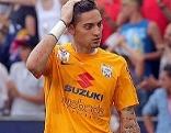 Torhüter Cican Stankovic im Dress des SV Grödig