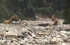 Obersulzbachtal Mure Flut Hochwasser