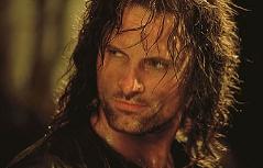 Viggo Mortensen als Aragorn in Herr der Ringe