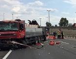 Unfall auf der A22