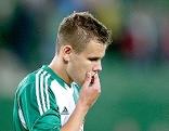 Louis Schaub (Rapid) nach dem Spiel SK Rapid Wien gegen HJK Helsinki