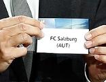 UEFA-Auslosung von FC Red Bull Salzburg