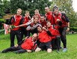 Bronze-Medaillen-Gewinner beim Team-Bewerb der Militär-WM