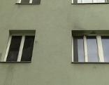 Fenster: Brand in der Goldschlagstraße