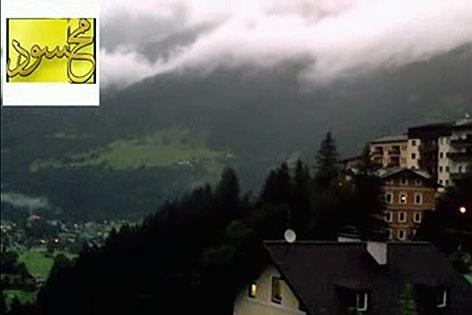 Screenshot aus dem angeblichen Dschihadisten-Video über Bad Gastein (Pongau)