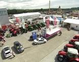 Autos und Traktoren bei der Inform 2014