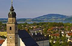 Blick auf Seekirchen
