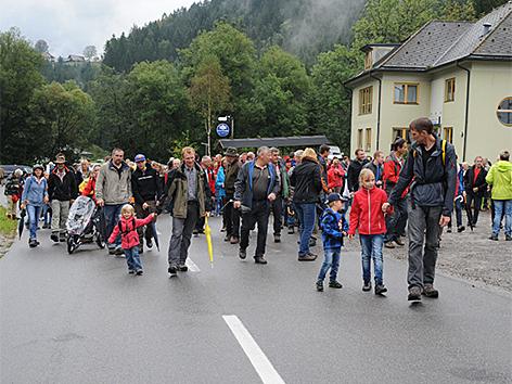 Protestwanderung
