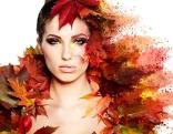 Herbst Gesicht
