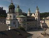 Residenzplatz und Dom im Herzen der Salzburger Altstadt