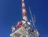 ORF Radio und Fernseh Sender auf dem Gaisberg in der Stadt Salzburg