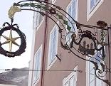 Schild des Sternbräus in der Salzburger Altstadt
