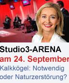 Promobutton Kalkkögel-Arena