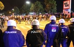 Ausschreitungen bei Spiel zwischen Austria Salzburg und Sturm Graz