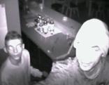 Aufnahmender Überwachungskamera