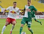 Stefan Ilsanker und Robert Beric bei Salzburg - Rapid