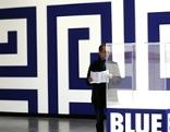 """Presseführung durch die Ausstellung """"Blue Times""""  am Dienstag,30. September 2014,in der Kunsthalle im Wiener MuseumsQuartier"""