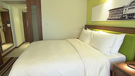 """Zimmer im """"Hampton by Hilton"""" Warschau"""