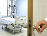 Isolierstation in der Infektionsabteilung des Kaiser-Franz-Josef-Spitals in Wien