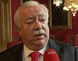 Bürgermeister Michael Häupl bei ORF-Interview