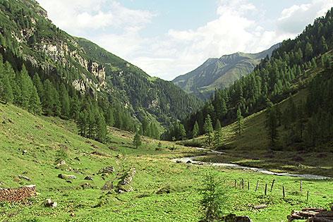 Das Seidlwinkltal bei Rauris (Pinzgau)