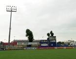 Das neu hergerichtete Stadion des Floridsdorfer AC