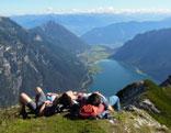 Seebergspitze am Achensee
