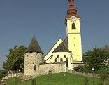 SSC Tarvis Kirche Domenig Buch