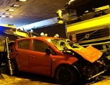 Unfall in Tunnel