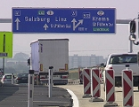 Baustelle Westautobahn