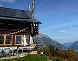 Hütte mit Ausblick