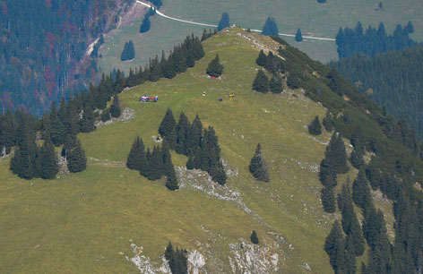 Hubschrauberabsturz im Tannheimer Tal