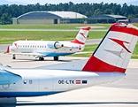 Fluzeuge der Austrian Airlines