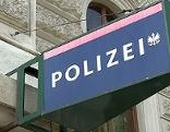 Schild Polizei