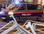 Polizei auf der Mariahilfer Straße