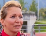 Bobfahrerin Christina Hengster