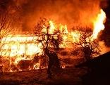 Brand Bauernhaus in Ellmau