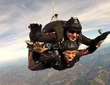 Fallschirmspringen Radfeld
