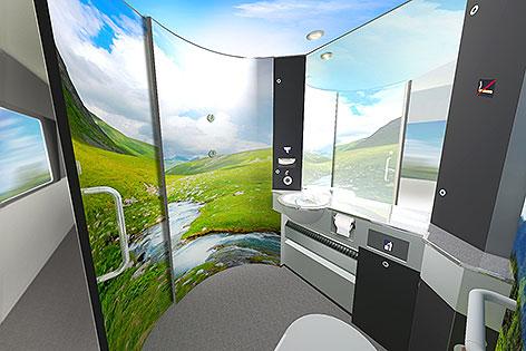 Die ÖBB beduften schrittweise die Toiletten in 250 Nahverkehrszügen