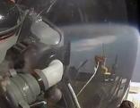 Alan Eustache bei seinem Stratosphären-Sprung