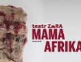 "Plakat zur Theaterproduktion ""Mama Afrika"""