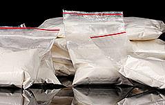 Säckchen mit Kokain