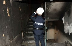 Sechs Verletzte bei Brand in Steyr