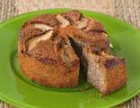 Veganer Mohn-Apfel-Kuchen