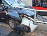 Unfall an Haltestelle
