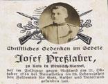 Sterbebild im Tiroler Ehrenbuch
